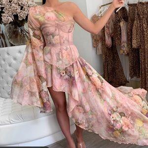 Evangeline Dress in rose